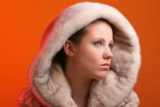Free Woman In Fur Royalty Free Stock Image - 8384926