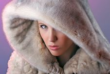 Free Serious Woman In Fur Royalty Free Stock Photo - 8385025