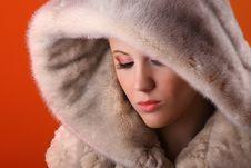 Free Woman In Fur Stock Photography - 8385062