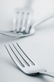 Free Forks Royalty Free Stock Photo - 8385775