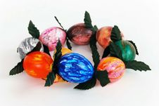 Decorative German Easter Decoration Royalty Free Stock Photos