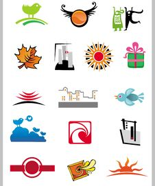 Free Vector Symbols Royalty Free Stock Photography - 8386097