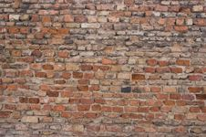 Free Brick Wall Royalty Free Stock Photography - 8386267