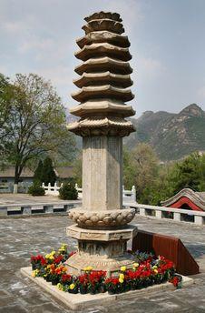 Free Stone Stupa Royalty Free Stock Photo - 8386285