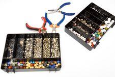Free Jewellery Making Royalty Free Stock Image - 8386556