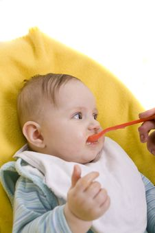 Free Eating Baby Royalty Free Stock Photos - 8386618