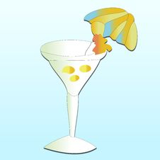 Free Martini Royalty Free Stock Image - 8386956