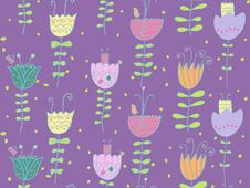 Free Floral Pattern Royalty Free Stock Images - 8386989