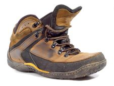 Free Worn Boot Royalty Free Stock Images - 8387339