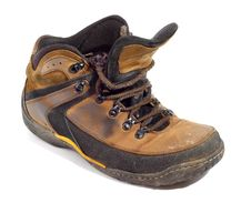 Free Worn Boot Royalty Free Stock Image - 8387346