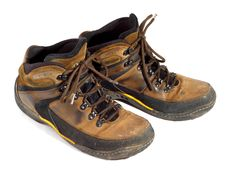 Free Pair Of Worn Boots Stock Photo - 8387400
