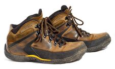 Free Pair Of Worn Boots Stock Photo - 8387410