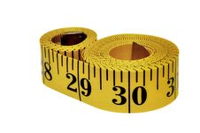 Free Measuring Tape Royalty Free Stock Photography - 8387947