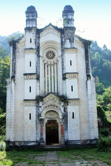 Free Bai Lu, China: Old French Church Royalty Free Stock Photos - 8388358