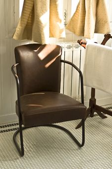 Free Bathroom Chair Stock Photography - 8388732