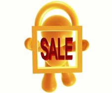 Secure Sale Icon Symbol Stock Photo