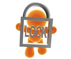 Free Secure Transaction Royalty Free Stock Image - 8388866