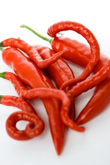 Free Red Chili Pepper Stock Photography - 8388902