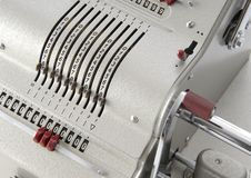 Free Detail Of An Old Calculating Machine Royalty Free Stock Photo - 8388945