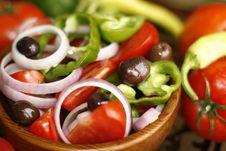 Free Greek Salad Stock Photography - 8389212