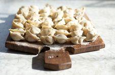 Free Uncooked Meat Dumplings Stock Photos - 8389543