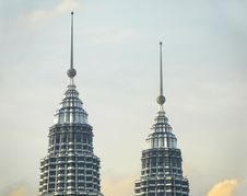 Free Kuala Lumpur Skyline, Malaysia Royalty Free Stock Image - 8389586