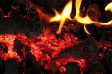 Free Flames Fire Royalty Free Stock Image - 8389776
