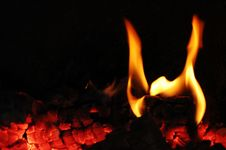 Free Flames Fire Stock Photo - 8389960