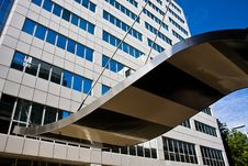 Office Tower In Rotterdam Royalty Free Stock Photography