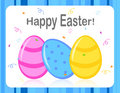 Free Happy Easter Greeting Card Royalty Free Stock Photos - 8390828