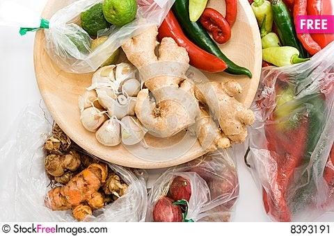 Free Seasoning Ingredients Stock Image - 8393191
