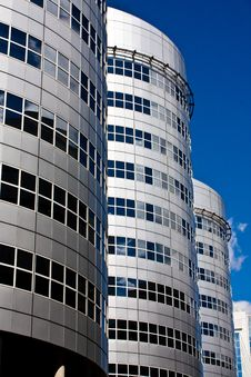 Free Office Towers In Rotterdam Stock Photo - 8390080