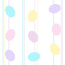 Free Easter Eggs Background / Seamless Pattern Stock Photo - 8390370