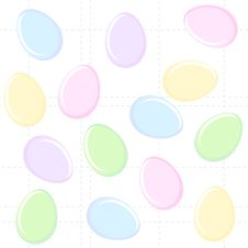 Free Easter Eggs Background Stock Photography - 8390972