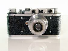Free Old Photo Camera Royalty Free Stock Photo - 8391125