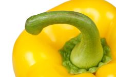Free Yellow Pepper Closeup Stock Images - 8391444