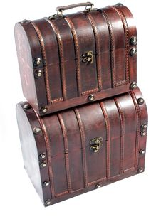 Free Vintage Chests Royalty Free Stock Photo - 8391455