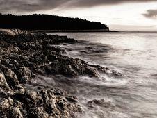 Adriatic Sunset Royalty Free Stock Image