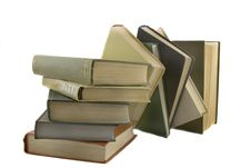 Free Stack Of Books Stock Image - 8392851