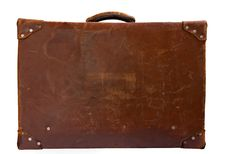 Free Vintage Leather Suitcase Royalty Free Stock Photography - 8392887