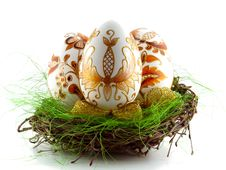 Free Easter Eggs Royalty Free Stock Photos - 8393288
