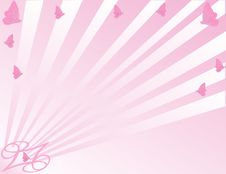 Free Pink Butterfly Background Stock Photos - 8393893