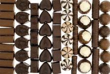 Free Chocolate Sweets Royalty Free Stock Image - 8394646