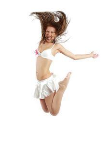 Free Breakdancer Jumping Stock Images - 8395054