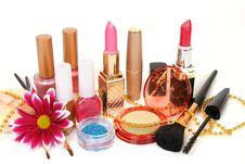 Free Female Decorative Cosmetics Stock Images - 8395064