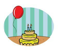 Free Birthday Background Royalty Free Stock Image - 8395436