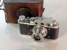 Free Old Photo Camera Royalty Free Stock Image - 8395946