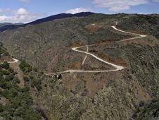 Free Landscape Of Guadalajara, Spain Stock Images - 8396284