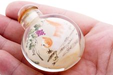 Free Snuff Bottle Royalty Free Stock Photography - 8396587