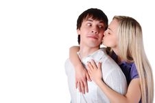 Free Young Loving Couple Stock Images - 8396674